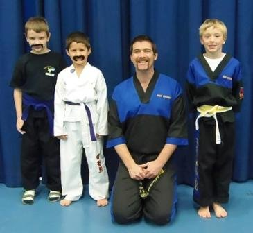Charity Moustache Day - Juniors